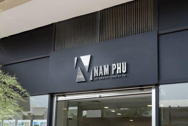 Mockup logo namphu