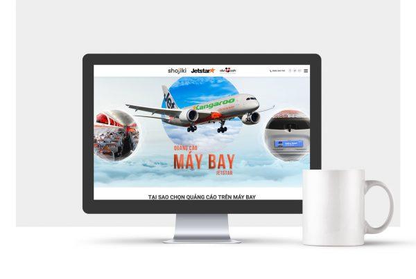 Web maybay mockup