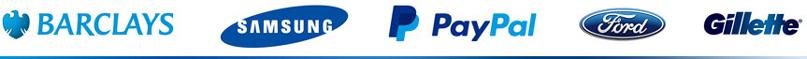 Logo màu xanh nước biển