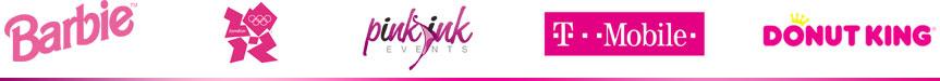 Logo màu hồng