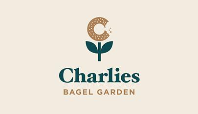 Charlies Bagels garden logo