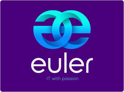 Euler 3D logo style design in 2021 trend1