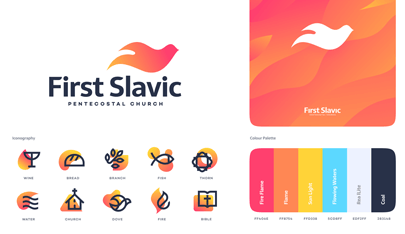 First Slavic Pentecostal Church logo