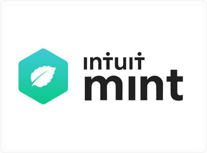 Intuit Mint branding logo design with green bio inspiration in 2021