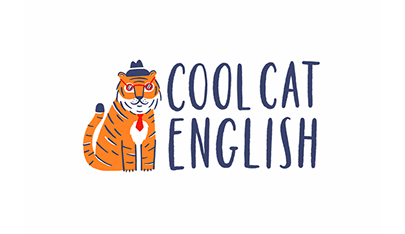 Logo for Cool Cat English