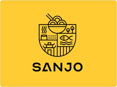 Sanjo Food Logo Design in 2021