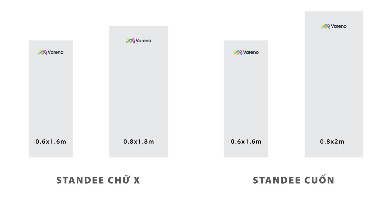 Kích thước standee chuẩn