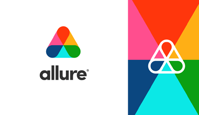 allure colorful logo