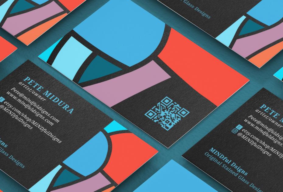 QR codes name card 2021