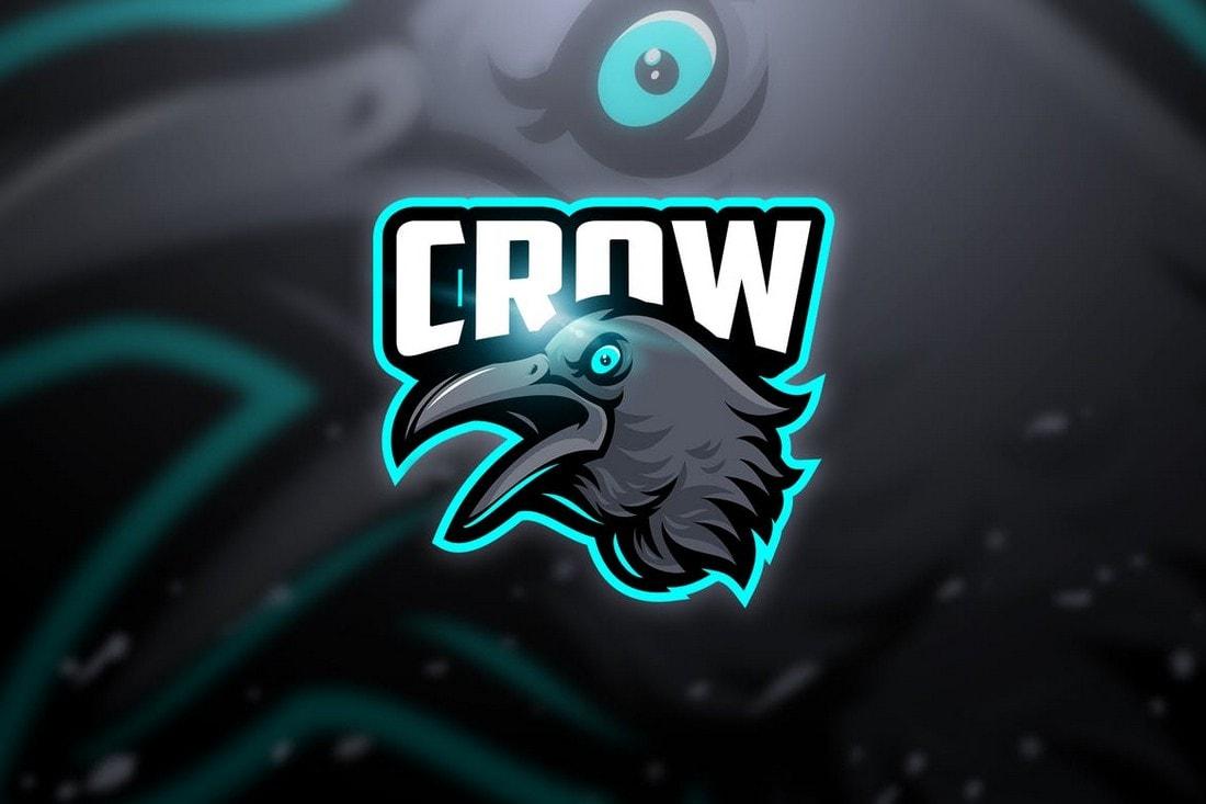 crow-neon-color-logo