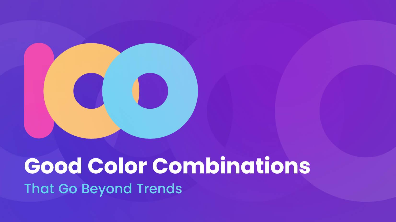 sự kết hợp của màu sắc