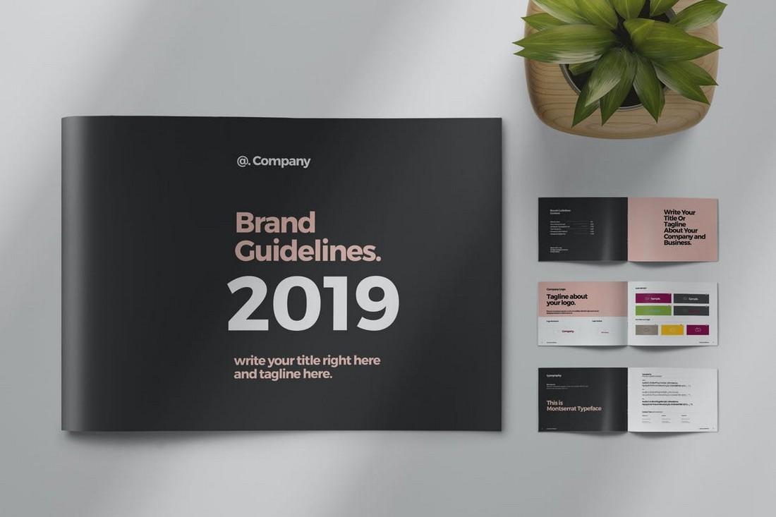 Brand-Guideline-Landscape-Template