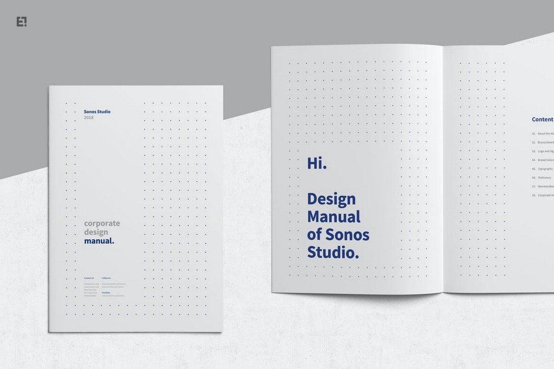 Minimal-Clean-Brand-Manual-Template