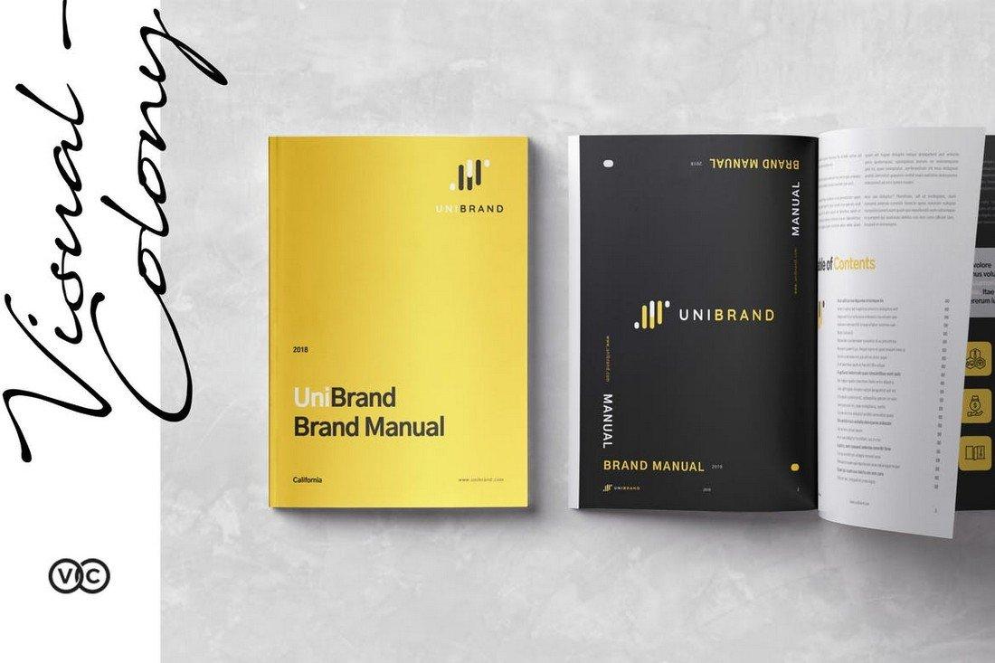 Modern-Brand-Manual-Template