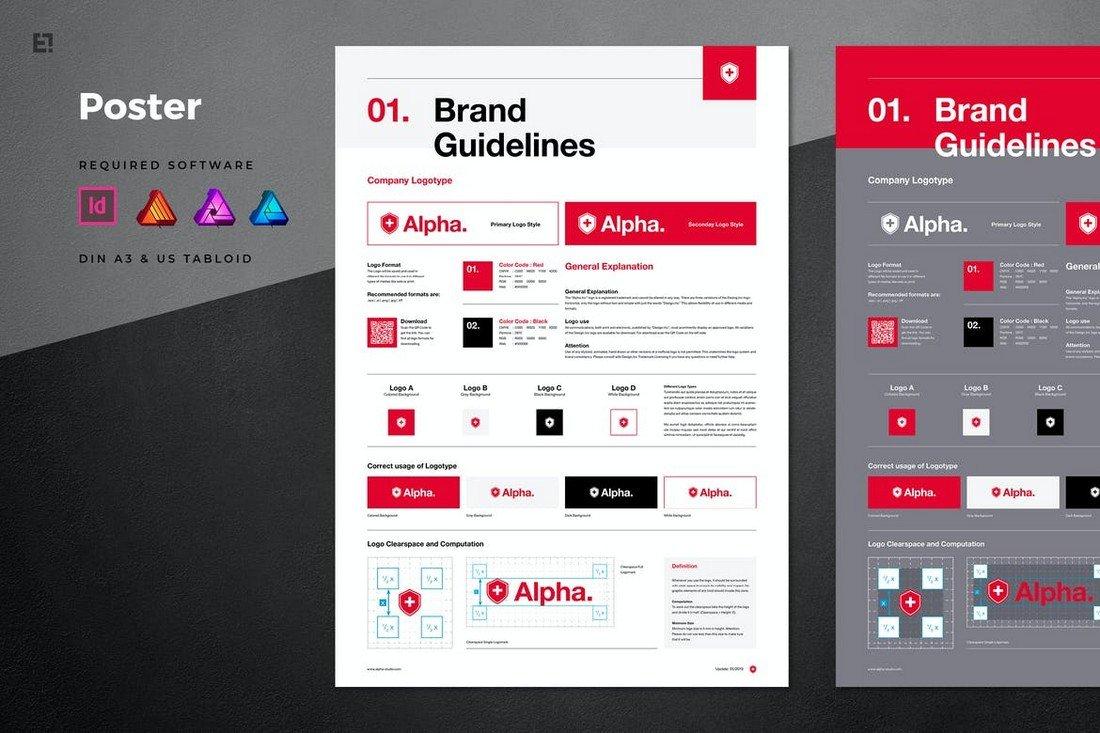 Multipurpose-Brand-Manual-Poster-Template