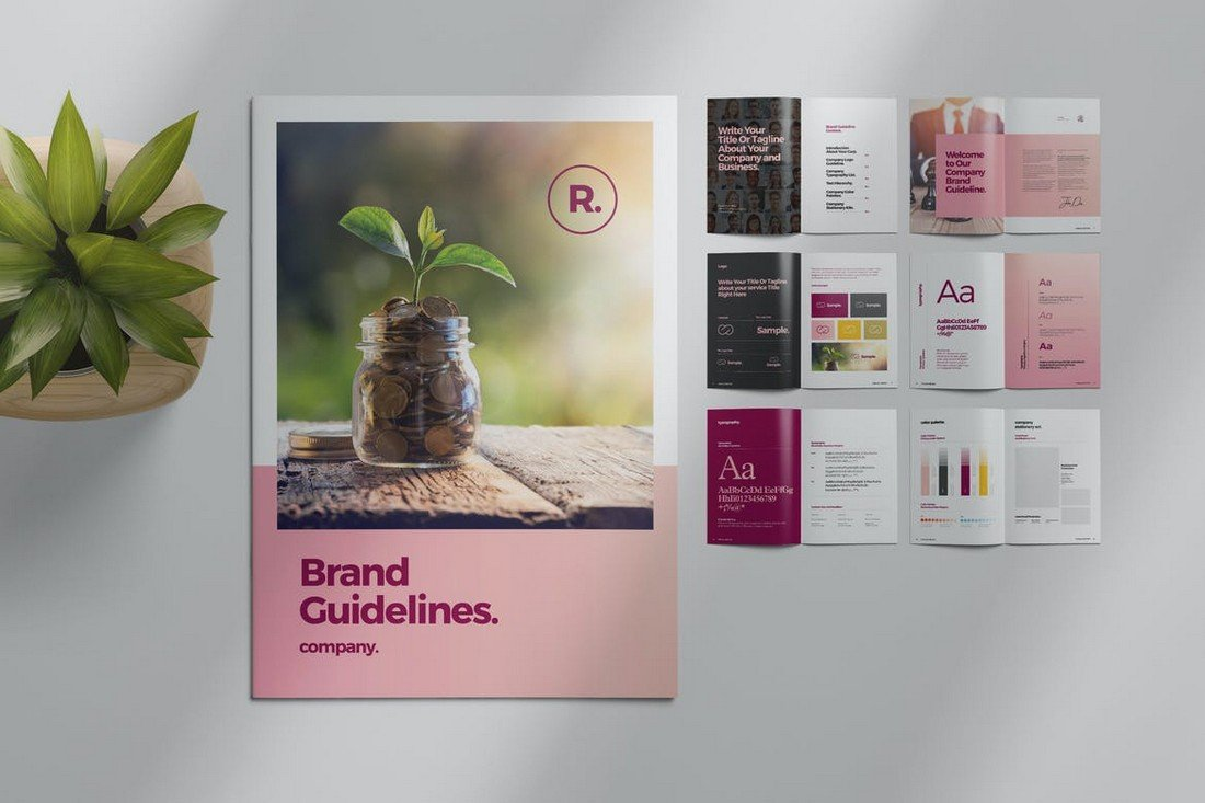 Sharp-Brand-Style-Guide-Template