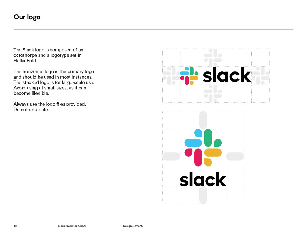 Slack Brand Guidelines Page 18