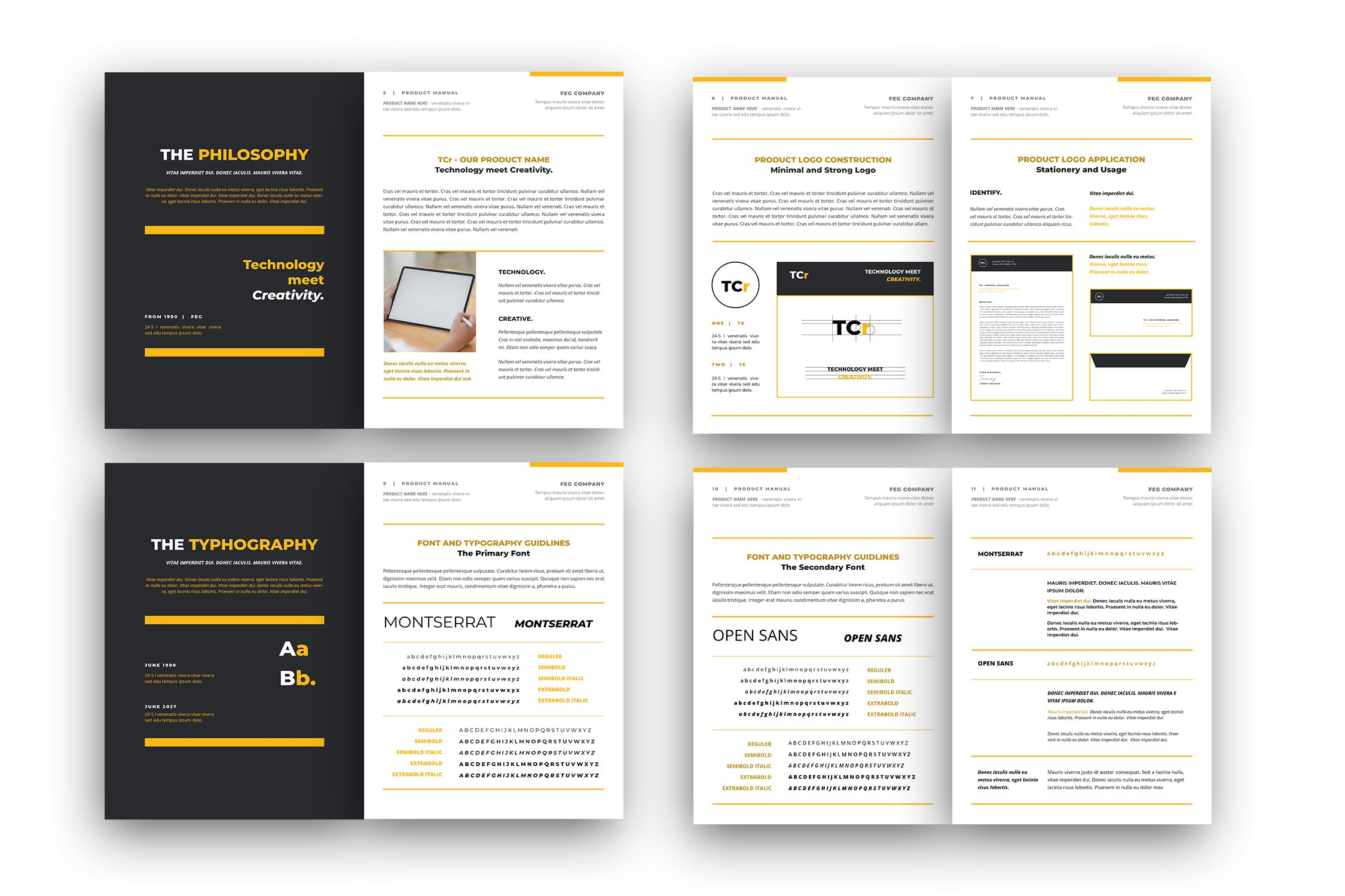 brand style guide template 1 1