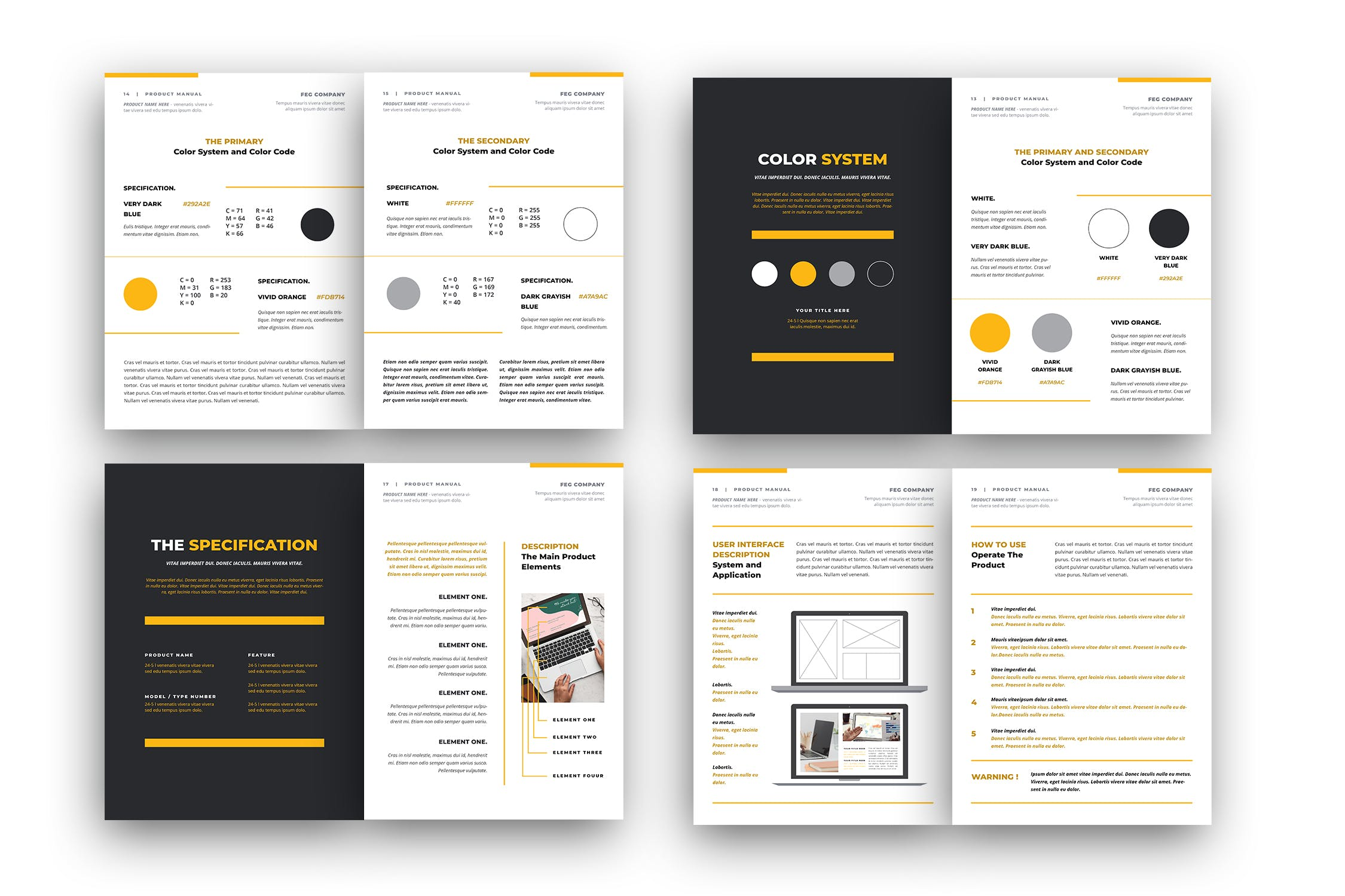 brand style guide template 1 2