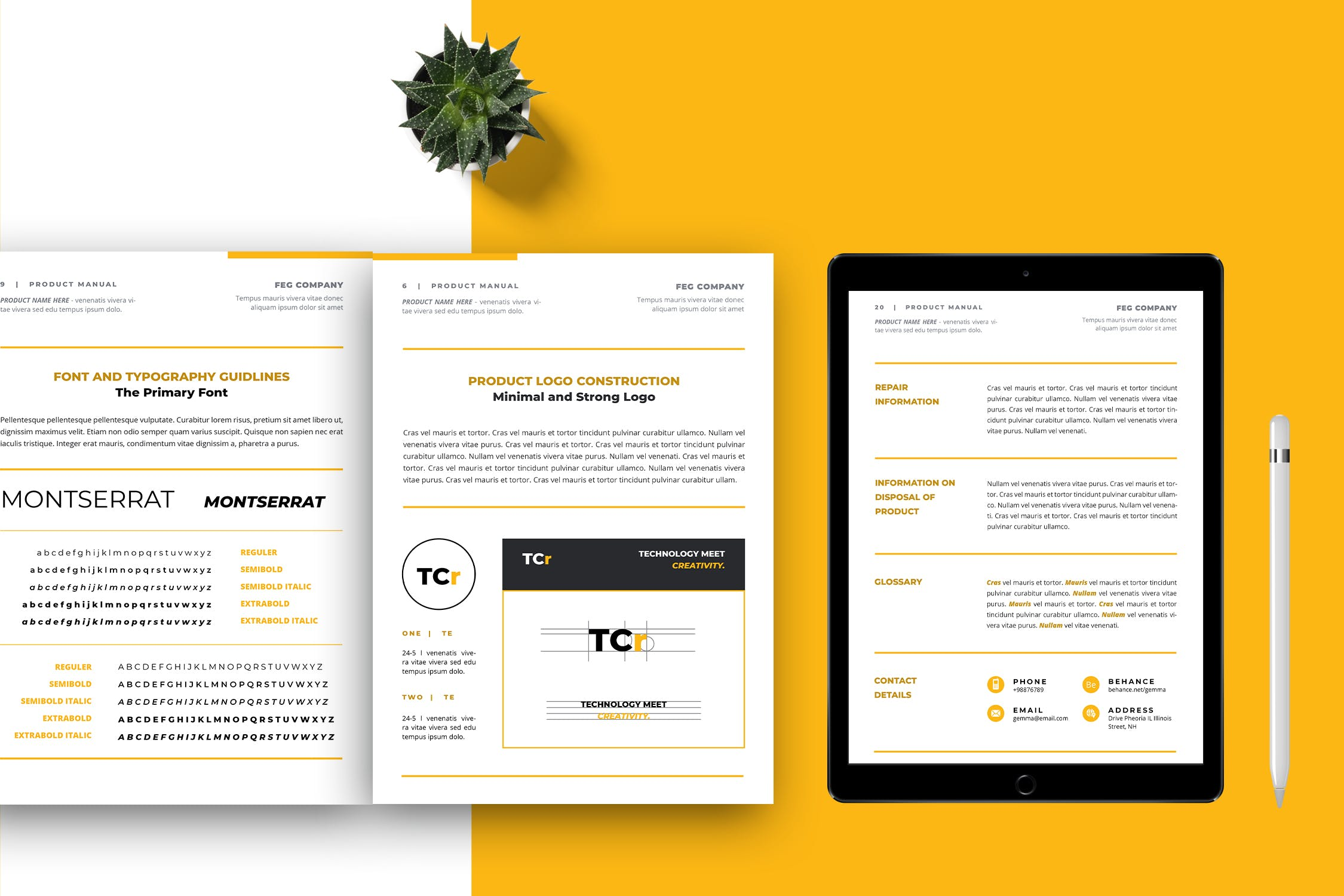 brand style guide template 1.3
