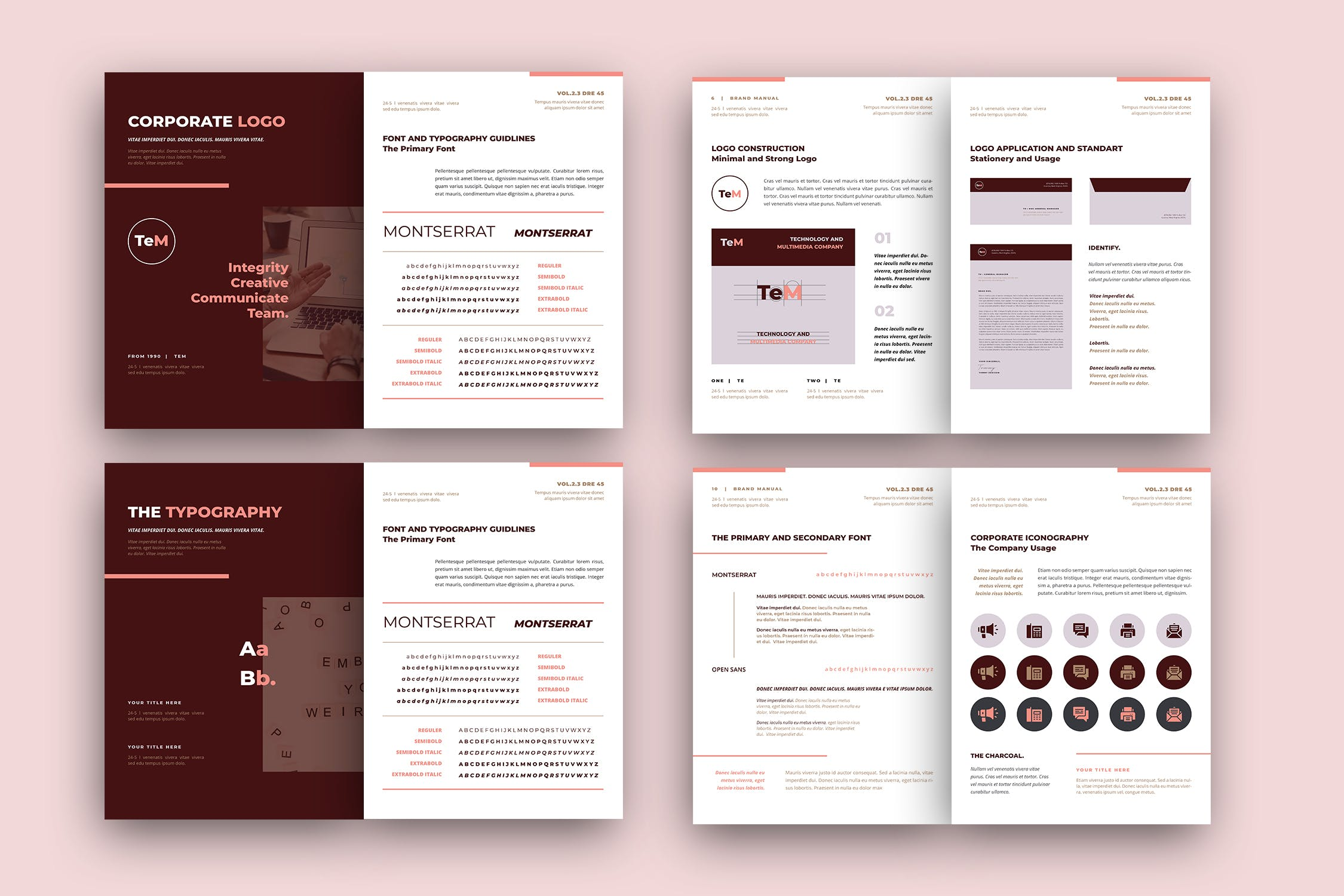 brand style guide template 2 1