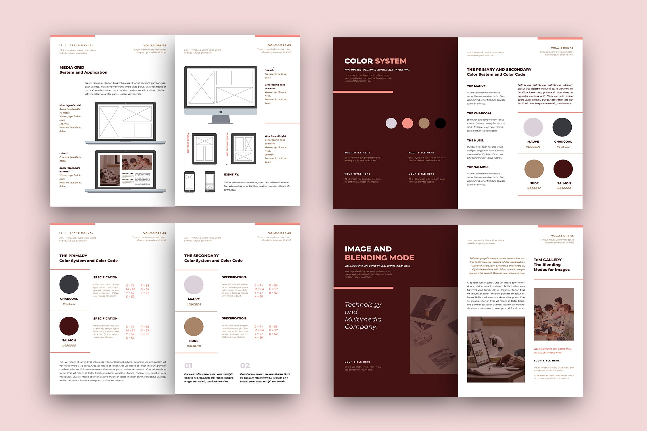 brand style guide template 2 2