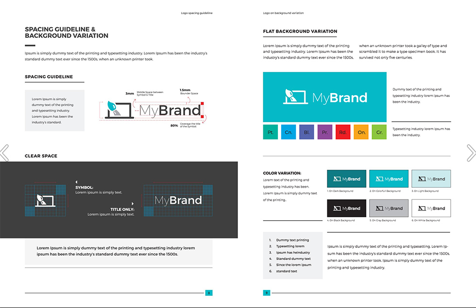 brand style guide template 25 1