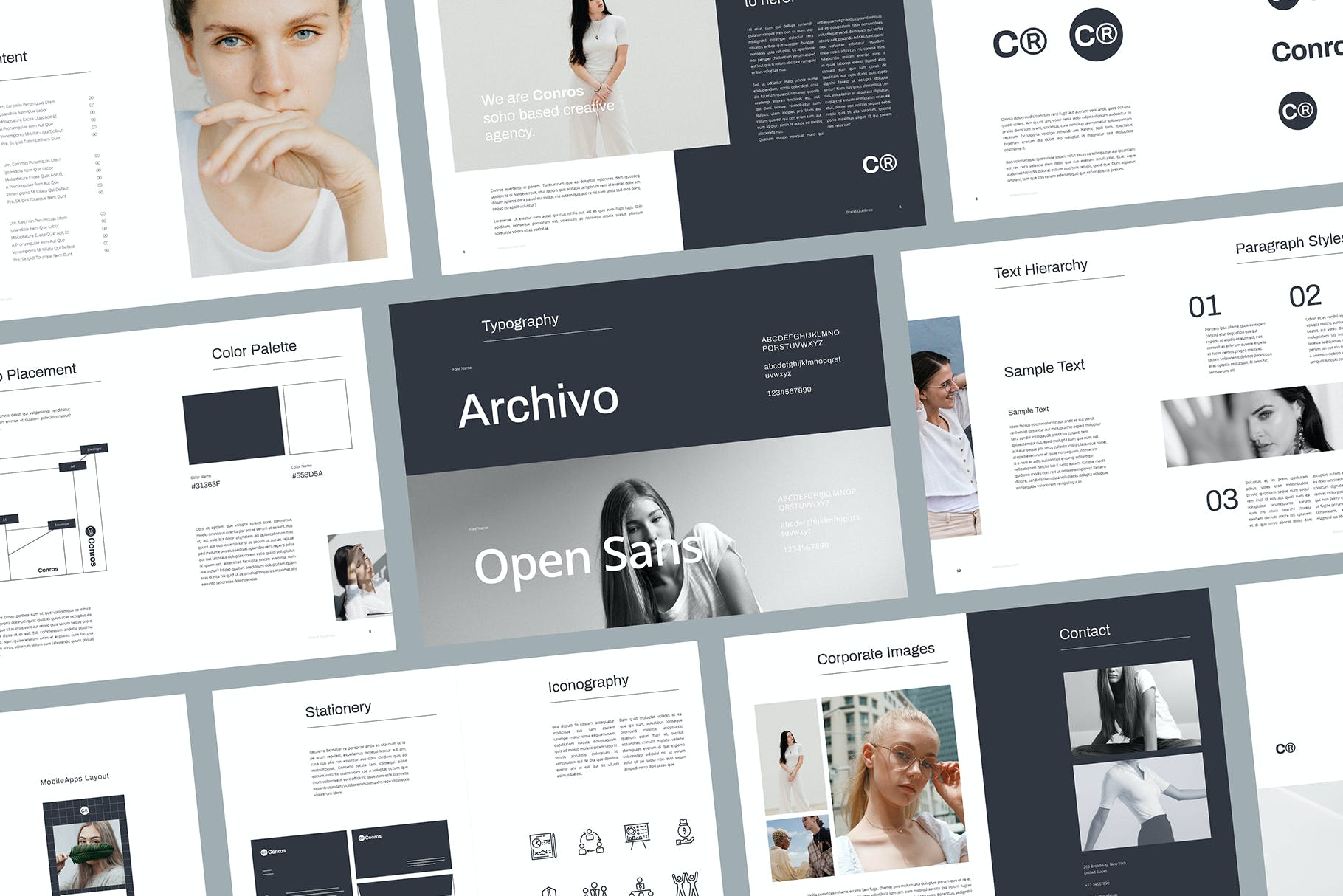 brand style guide template 3 1