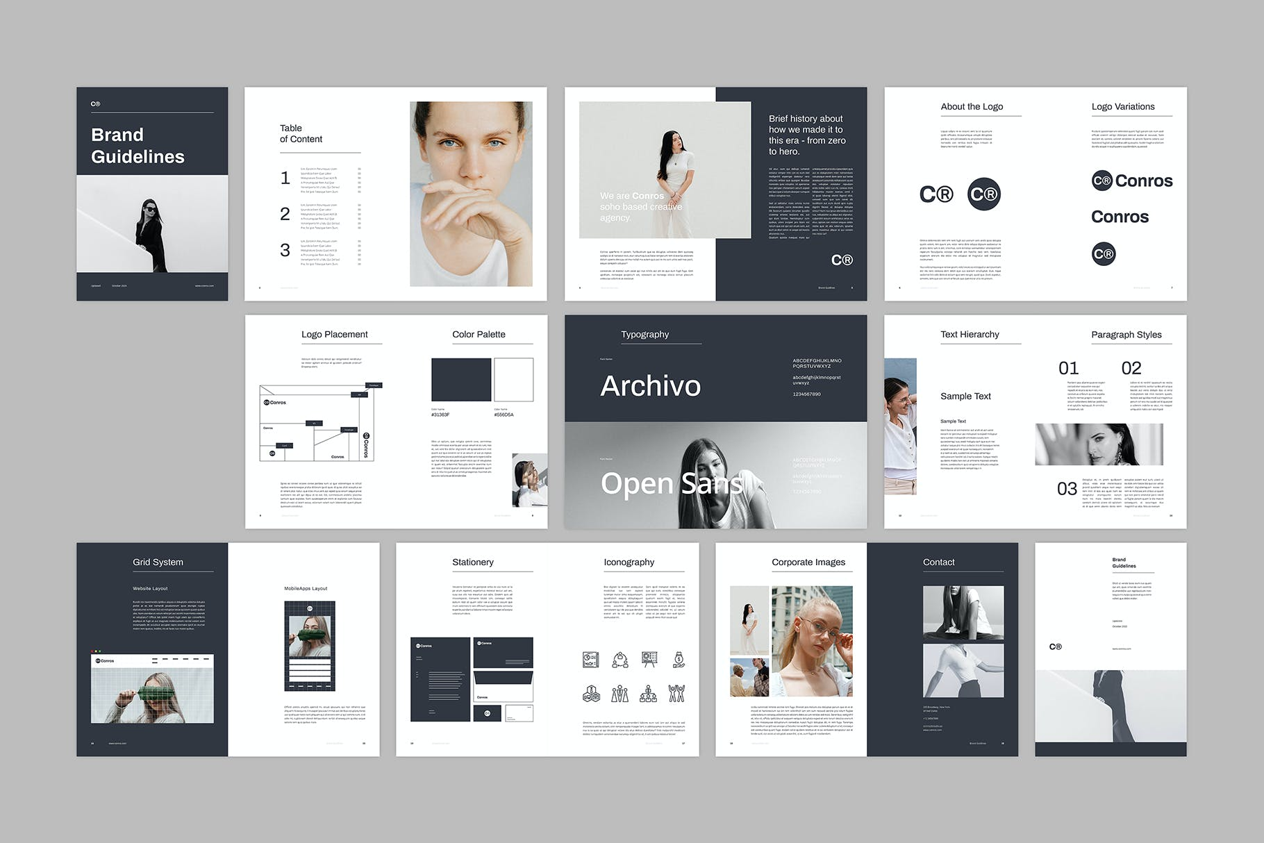 brand style guide template 3 3