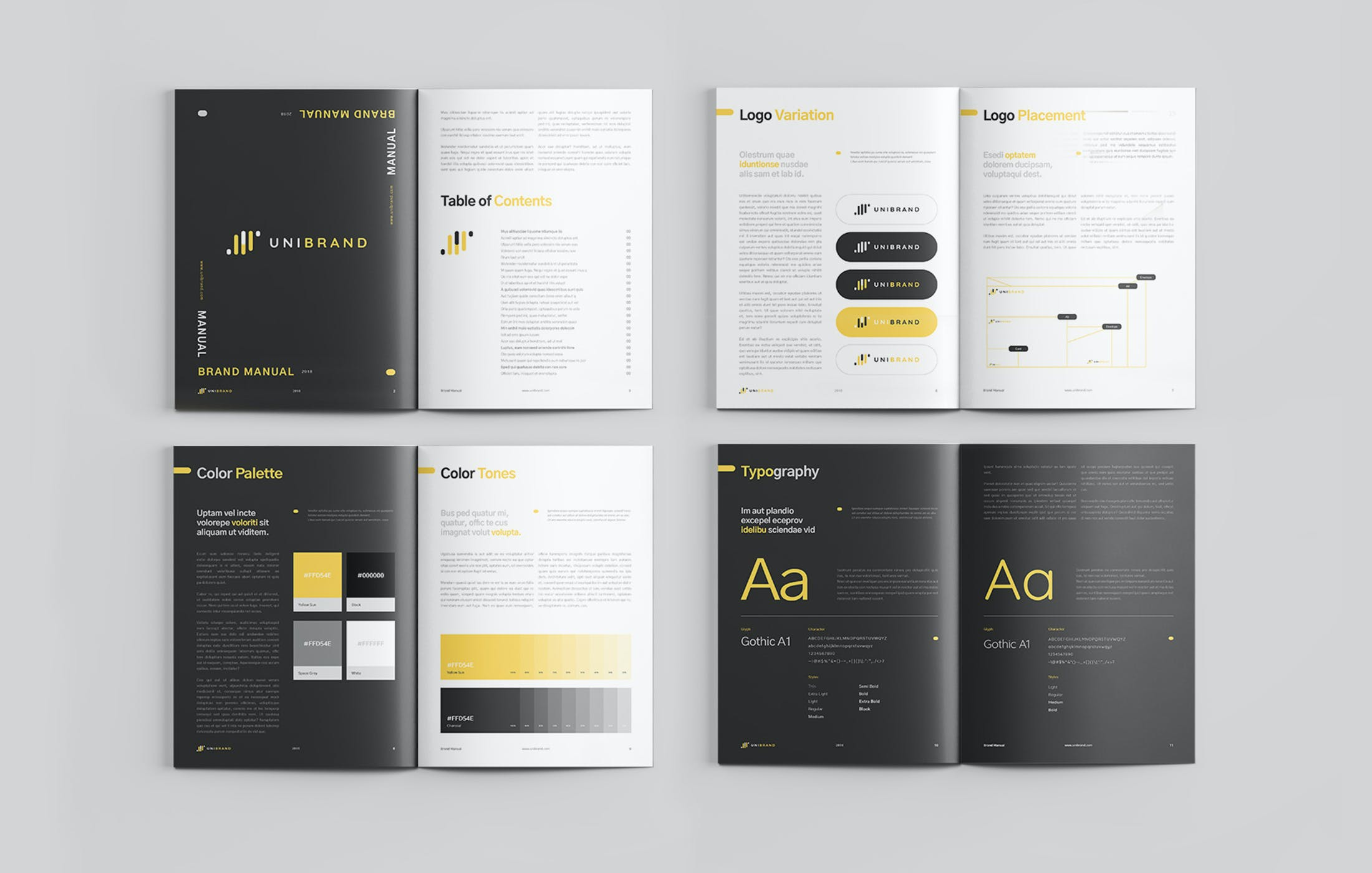 brand style guide template 4 1