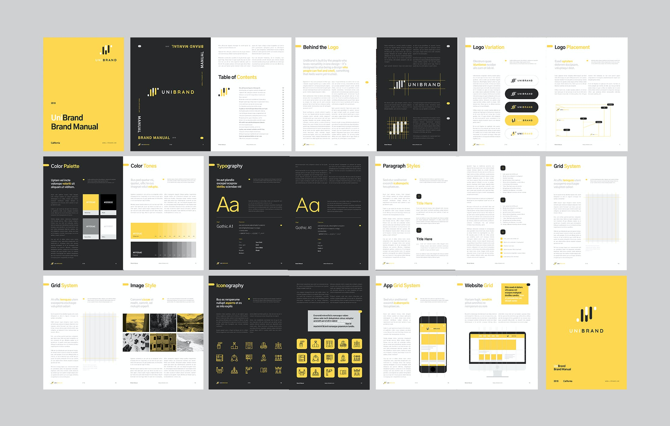 brand style guide template 4 3