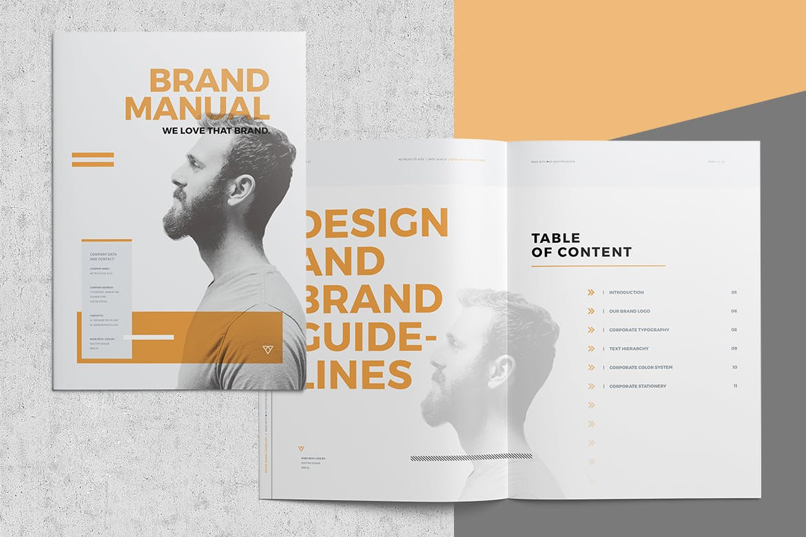 brand style guide template 6 1