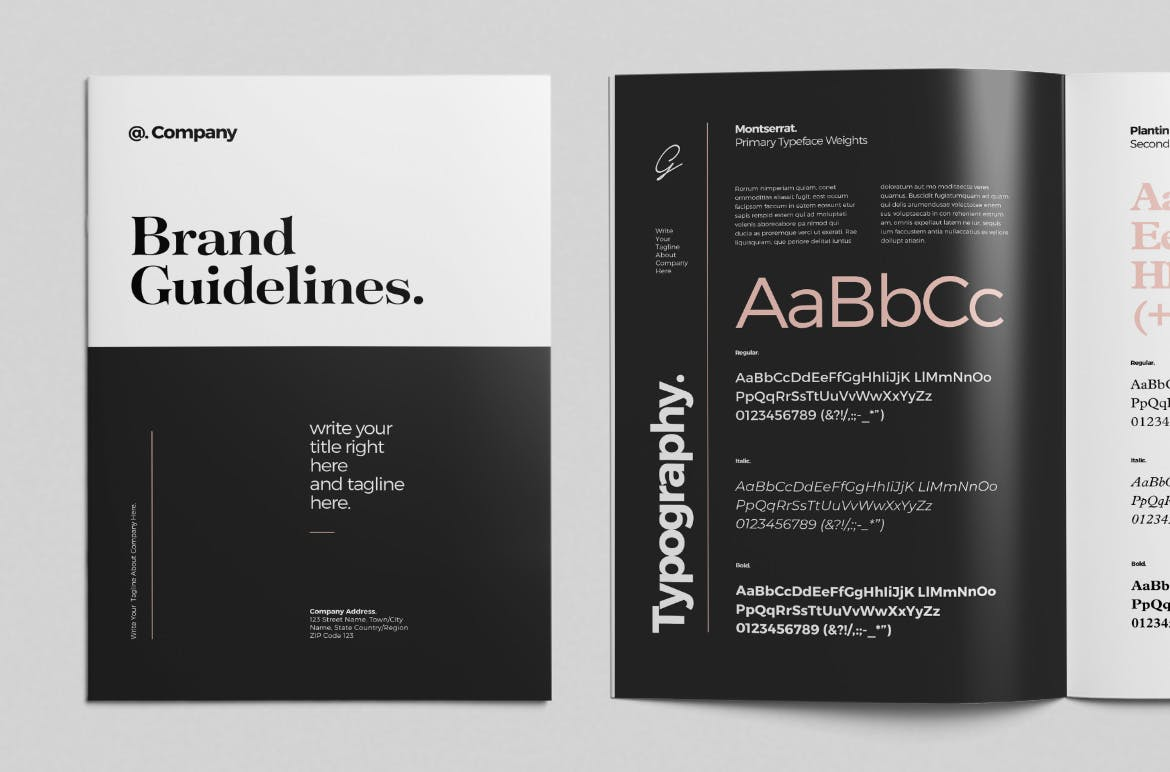 brand style guide template 7 1