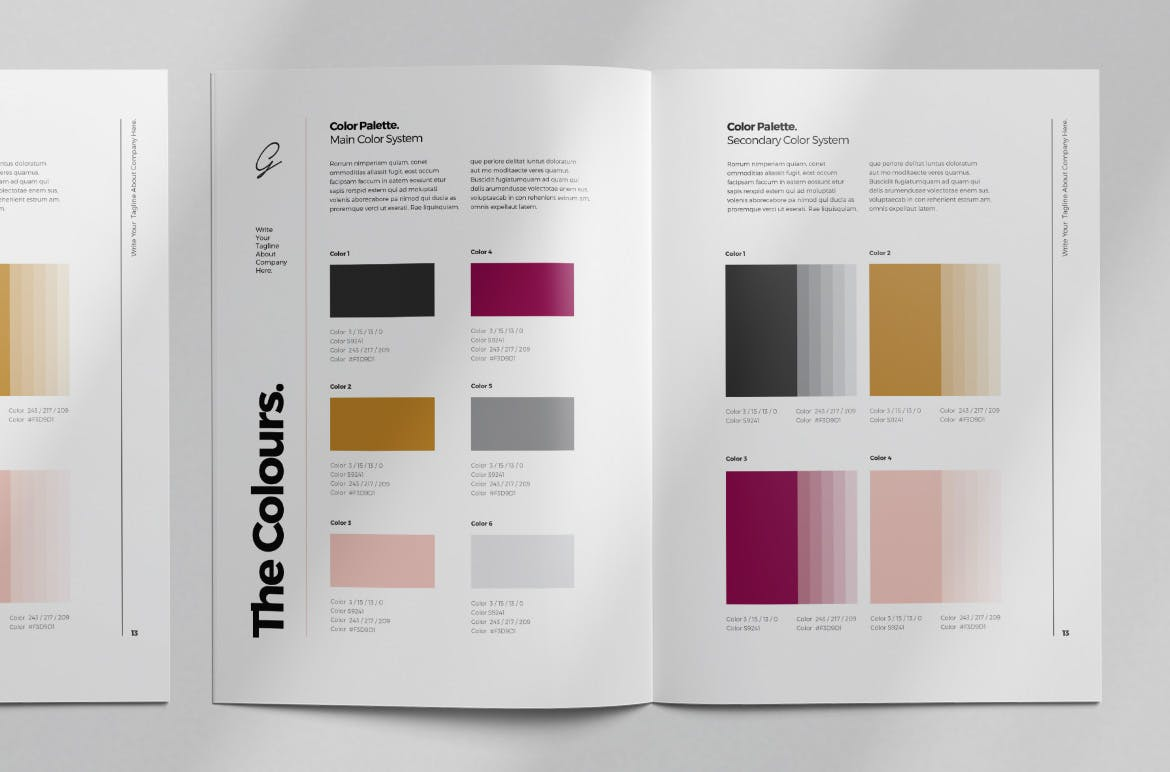 brand style guide template 7 3