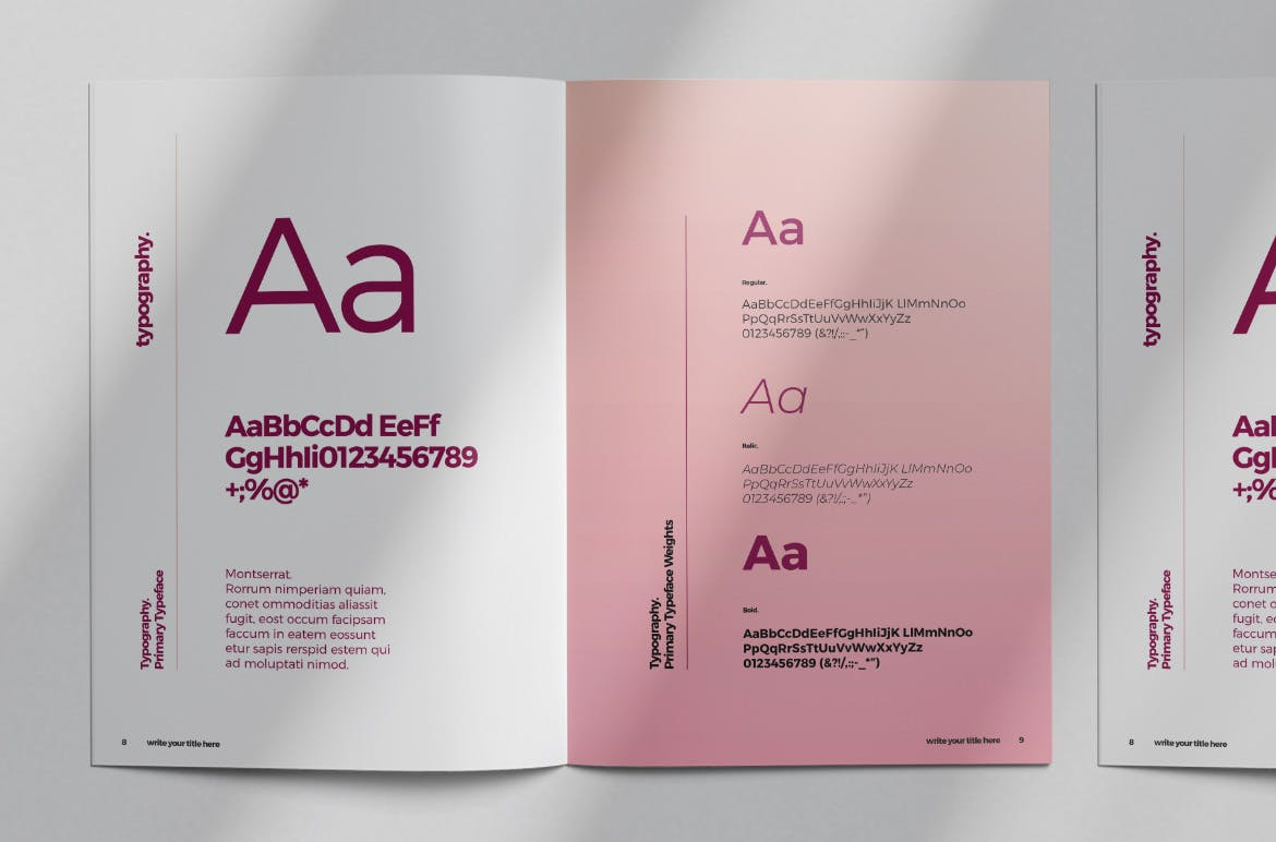 brand style guide template 8 2