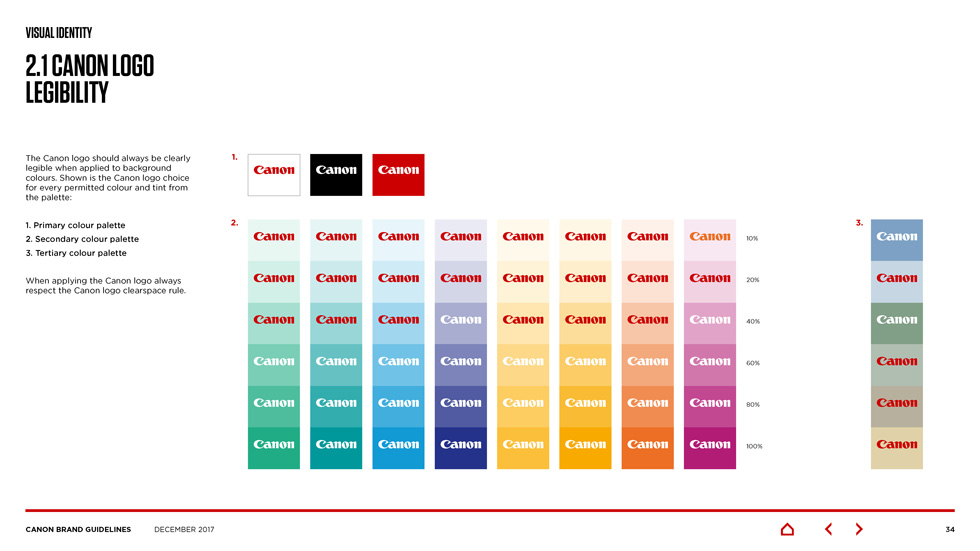 canon brand guidelines Page 05