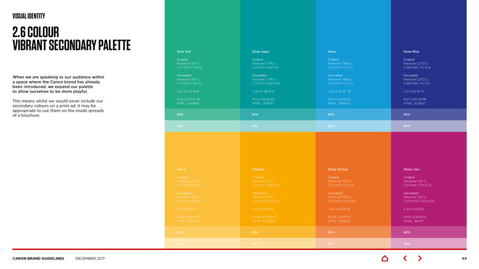 canon brand guidelines Page 13