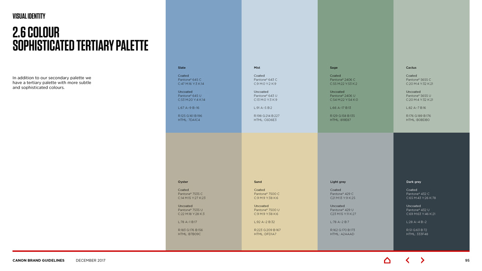 canon brand guidelines Page 14