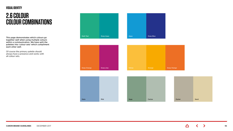 canon brand guidelines Page 15