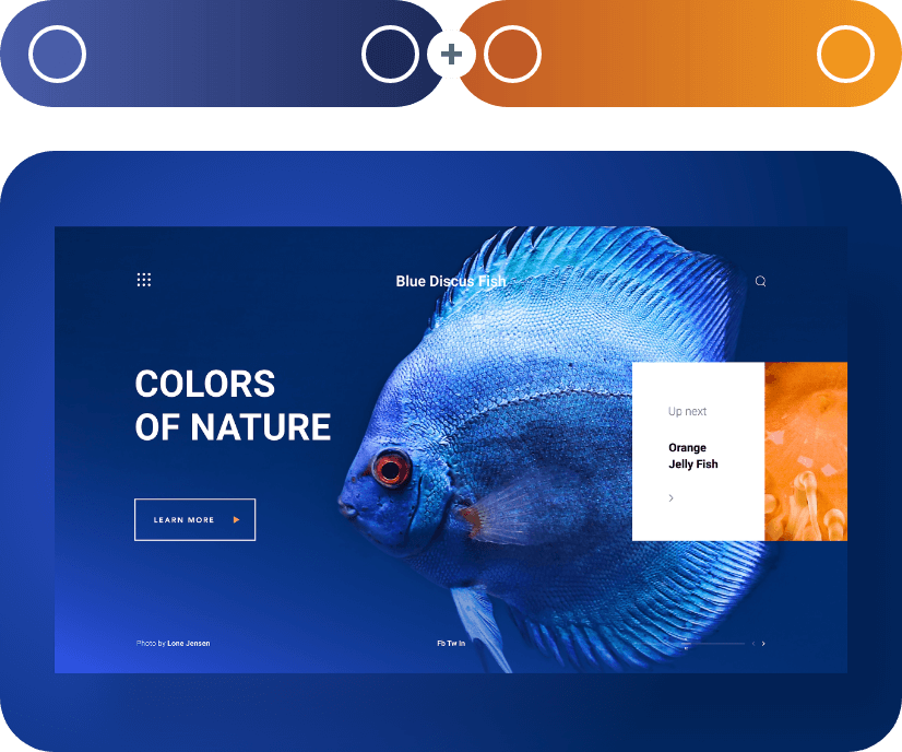 color combinations with blue example 41