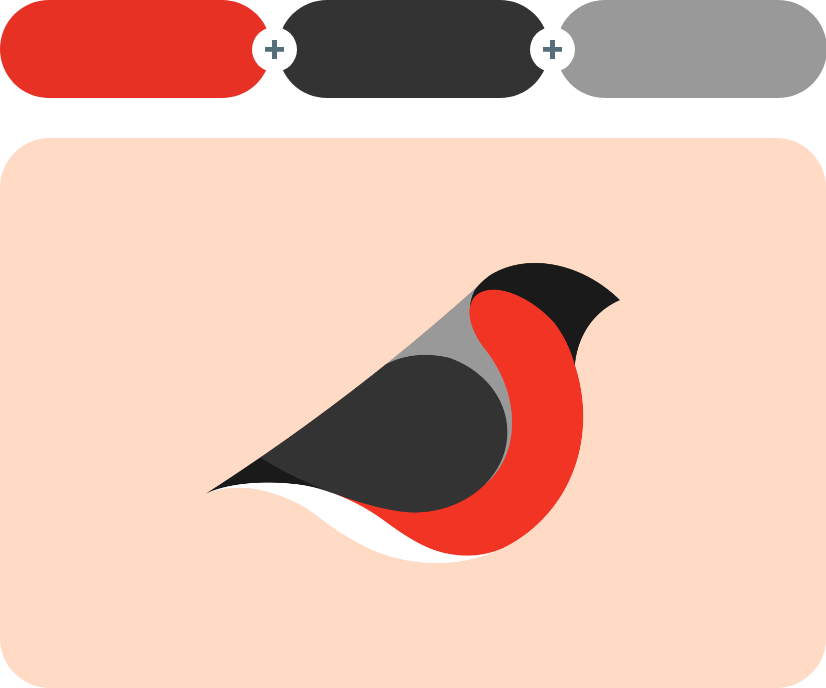 color combinations with red example 3