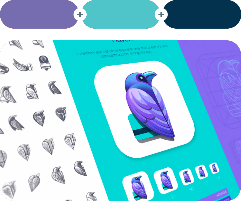 color combinations with violet example 3