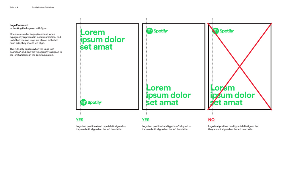 spotify logo color guidelines Page 13