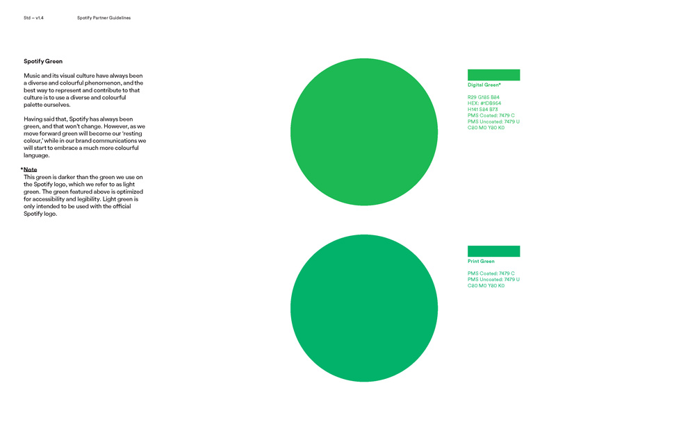 spotify logo color guidelines Page 15