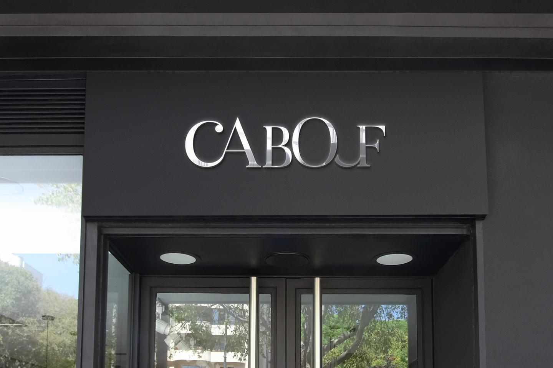 cabouf logo mockup