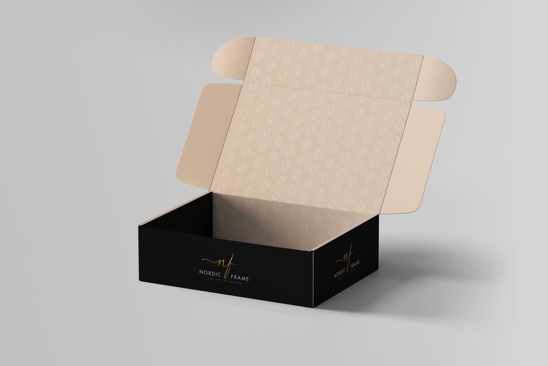 nordic frame mockup box 3
