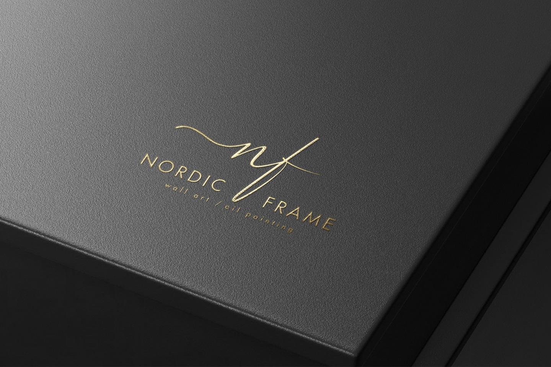nordic frame mockup
