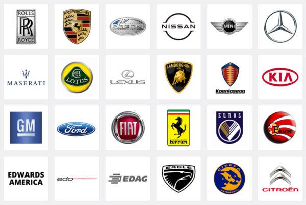 Logo xe hơi nổi tiếng