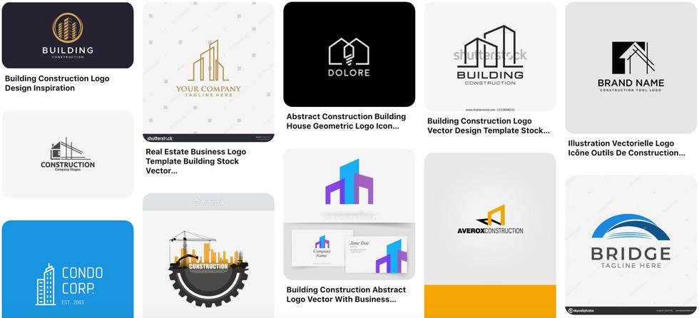 Logo ngành xây dựng
