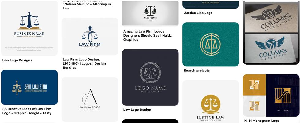 Logo công ty luật
